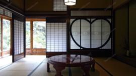 中式復古大戶型餐廳裝修效果圖